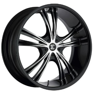 2CRAVE - no.2 - 17 Inch Rim x 7 - (4x100/4x4.5) Offset (40) Wheel Finish - glossy black