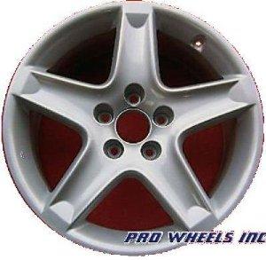 Acura Tl X Silver Factory Original Wheel Rim A - Acura factory rims