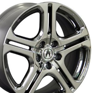 Certified Acura on Acura Tl5 Black Chrome Wheel 18 Inch Acura Rims Acura Aftermarket