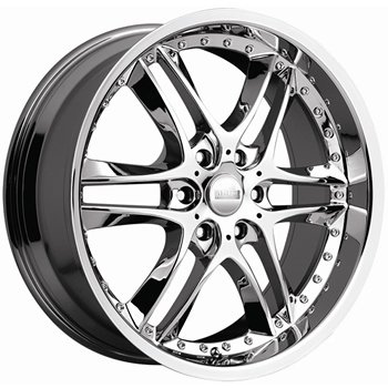 "Akuza Blade 381 Chrome Wheel (24x10""/6x139.7mm)"