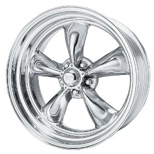 "American Racing Hot Rod Torq Thrust II VN515 Polished Wheel (15x7""/5x114.3mm)"