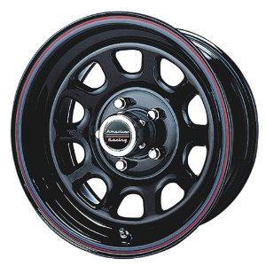 "American Racing Series AR767 Gloss Black Wheel (16x8""/8x165.1mm)"