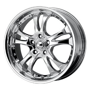 American Racing Casino (Series AR683) Chrome Wheel