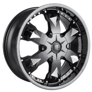 "Baccarat Athlete 2150 Black Wheel (24x9.5""/6x139.7mm)"