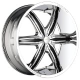 "Baccarat Outrage 2160 Chrome Wheel (22x9.5"")"
