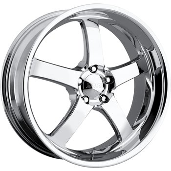 Boss 335 22 Chrome Wheel / Rim 5x5 with a 20mm Offset and a 94.62 Hub Bore.