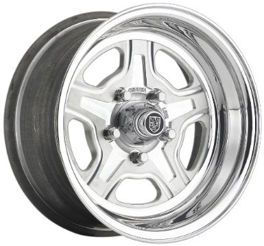 "Centerline Dicer Series 759 Nitrous Wheel with Hi-Polish Mirror Finish (15x12""/5x4.5"")"