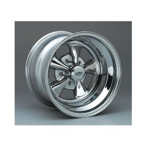 Cragar 61714: Wheel, Super Sport, Steel, Chrome