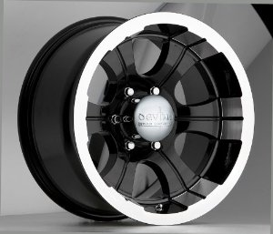 DEVINO 349 BLACK MACHINE 6X5.5 -28 - 15X8