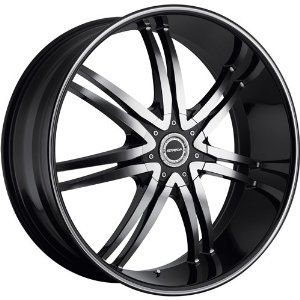 Strada Diablo 24 Black Wheel