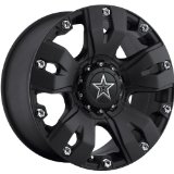 Dropstars 642B 18 Black Wheel / Rim 8x170 with a 0mm Offset and a 130.18 Hub Bore.