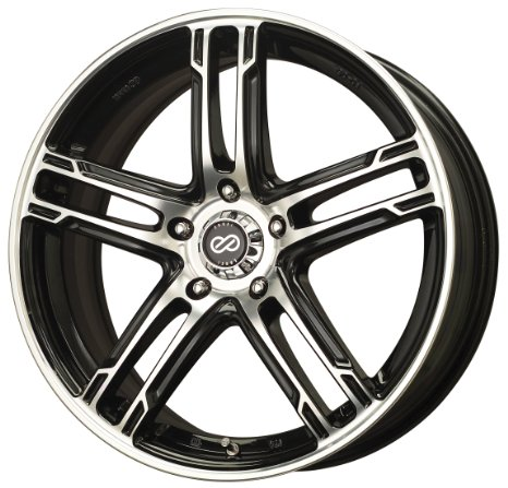 18x7.5 Enkei FD-05 (Gunmetal / Machined) Wheels/Rims 5x114.3 (434-875-6553GMM)