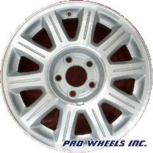 "Ford Windstar Lincoln Continental 16X7"" Machined Silver Factory Wheel Rim 3309 A"