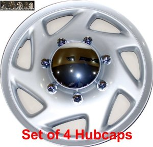 "16"" set of 4 Ford Truck Van Hub caps design are UNIVERSAL wheel covers fit most 16"" rims"