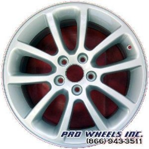 "Ford Edge 18X7.5"" Silver Factory Original Wheel Rim 3674 A"