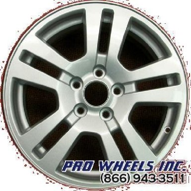 "Ford Edge Lincoln Mkx 17X7.5"" Silver Factory Original Wheel Rim 3672"