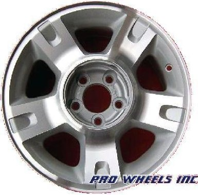 "Ford Explorer Sport Trac 16X7"" Machined Silver Factory Original Wheel Rim 3416"