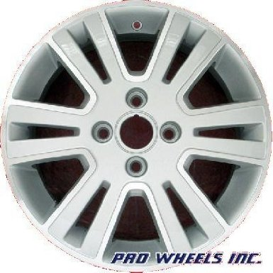 "Ford Focus 16X6"" Machined Silver Factory Original Wheel Rim 3703 A"