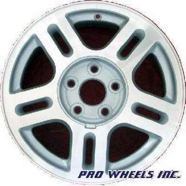 "Ford Freestar 16X6.5"" Machined Silver Factory Original Wheel Rim 3544 A"