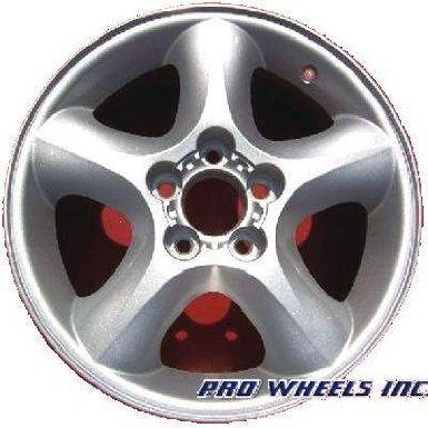 "Ford Taurus Taurus 16X6"" Silver Factory Original Wheel Rim 3384 B"