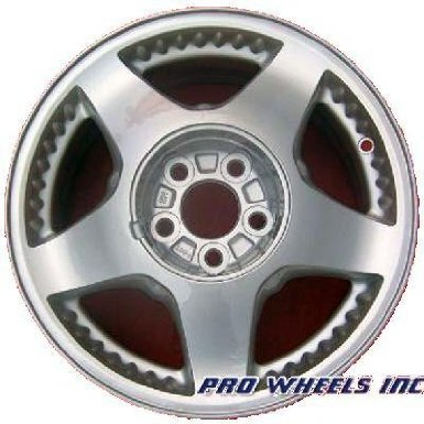"Ford Windstar 16X6.5"" Machined Gray Factory Original Wheel Rim 3565 A"