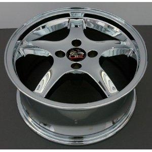 Cobra R 4 Lug Deep Dish Style Wheels Fits Mustang