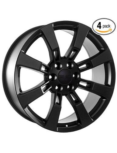 Gmc Denali Yukon Truck Suv Black Wheels Rims 20 Inch