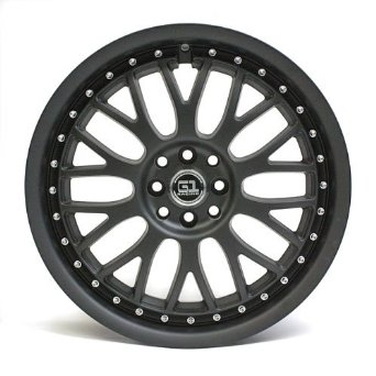 "18"" G1 Racing G87 Series Gino Wheel Black Matte 8 Lugs"