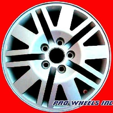 Mercury Mariner Machined Silver Factory Original Wheel Rim A