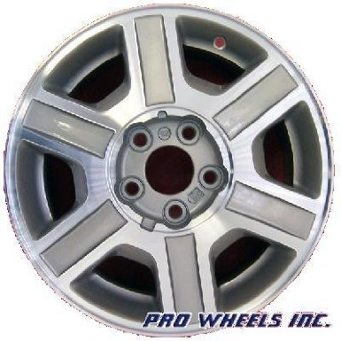 Mercury Villager Machined Silver Factory Original Wheel Rim A