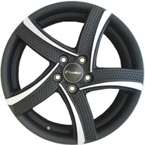 Panther Flite 18x7.5 Black Wheel / Rim 5x115 with a 35mm Offset and a 74.10 Hub Bore. Par
