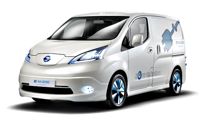 Nissan e-NV200 small van