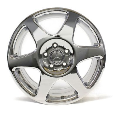 17 Inch Wheels Mercedes Benz Ml Class Chrome Factory Oem # 65249 Set of 4