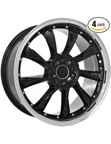 18 inch black Mercedes Benz wheels rims fits all Mercedes Benz models