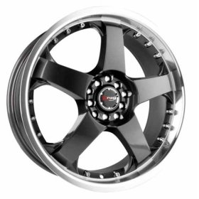 Performance Wheels on Drag Extreme Alloys Dr11 17inch Gunmetal Performance Wheels Jpg