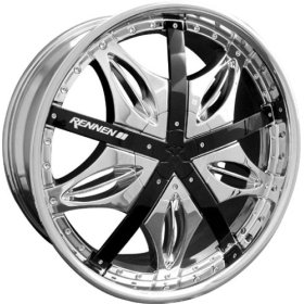 Rennen Ford Mustang 1994-2004 Kaotix Chrome Wheels